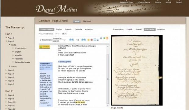 plateforme Digital Mellini
