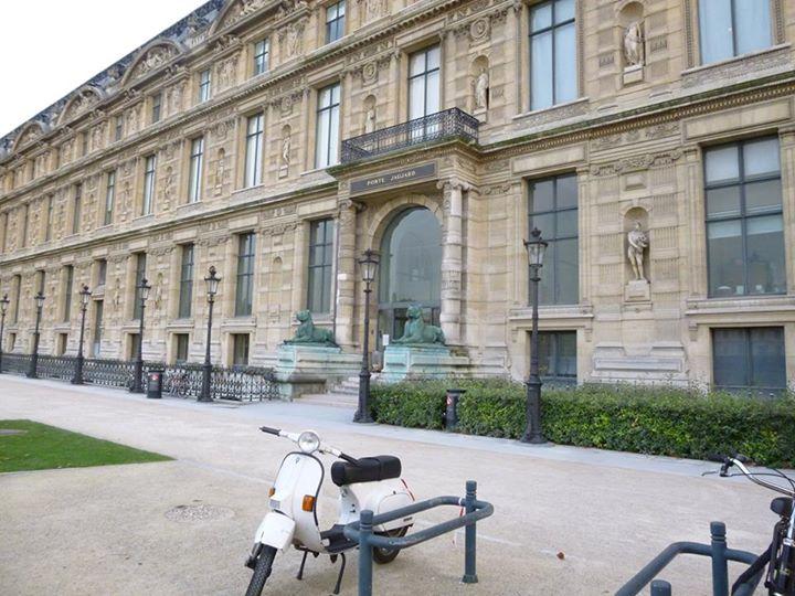 Première rentrée à l'Ecole du Louvre comme non-étudiante !