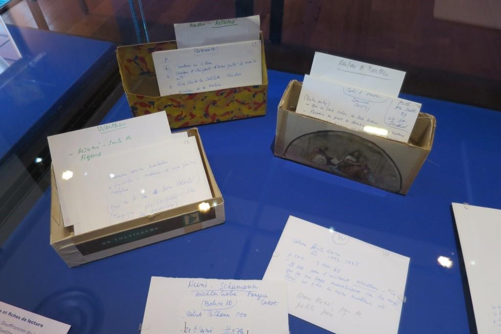 Fichiers et fiches de lecture autour des Souffrances du jeune Werther de Goethe